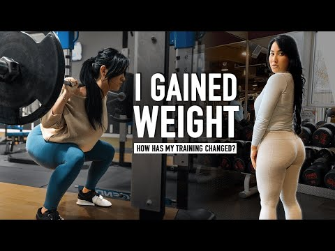 """After Gaining Weight: How Has My Training Changed? (My New """"All In"""" Split)"""