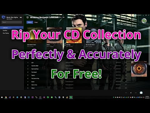Music Box Alpha - Rip Your CD Collection Perfectly and Accurately for Free!