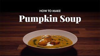 How to Make Pumpkin Soup | Happy Thanksgiving
