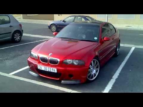 Candy Apple Red Bmw 325 Ci M3 Csl Custom Look Alike