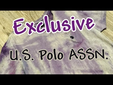 Эксклюзивная футболка U.S. Polo ASSN. | DIY