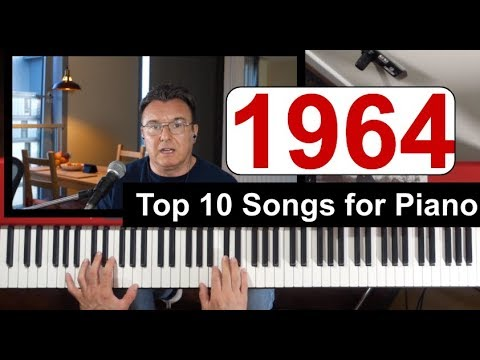 1964 Top 10 songs for Piano - Смотреть видео на мобильном!