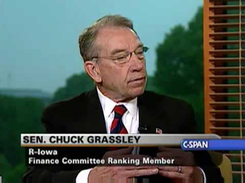 Sen. Charles Grassley on Judiciary Committee leadership