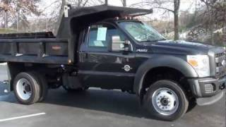 FOR SALE 2011 FORD F-550 XL DRW DUMP TRUCK!! ONLY 1K MILES STK# 110195A www.lcford.com