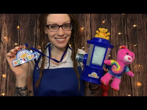 ASMR BINAURAL BUILD A BEAR WORKSHOP ROLE PLAY