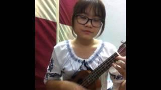 Hẹn hò với cô đơn ukulele cover by Trang Trần