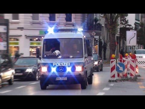 [VERFOLGUNGSJAGD] Polizei Hamburg verfolgt Feuerwehr Hamburg... (HD)