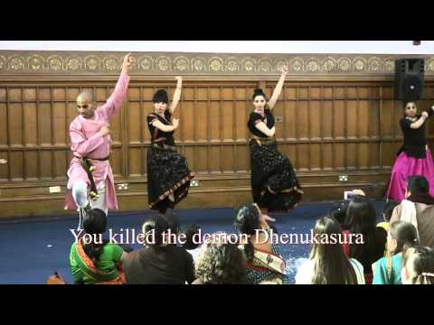 Dashavatara by the Vrindavan Lila Dancers at the Hare Krishna temple Leicester
