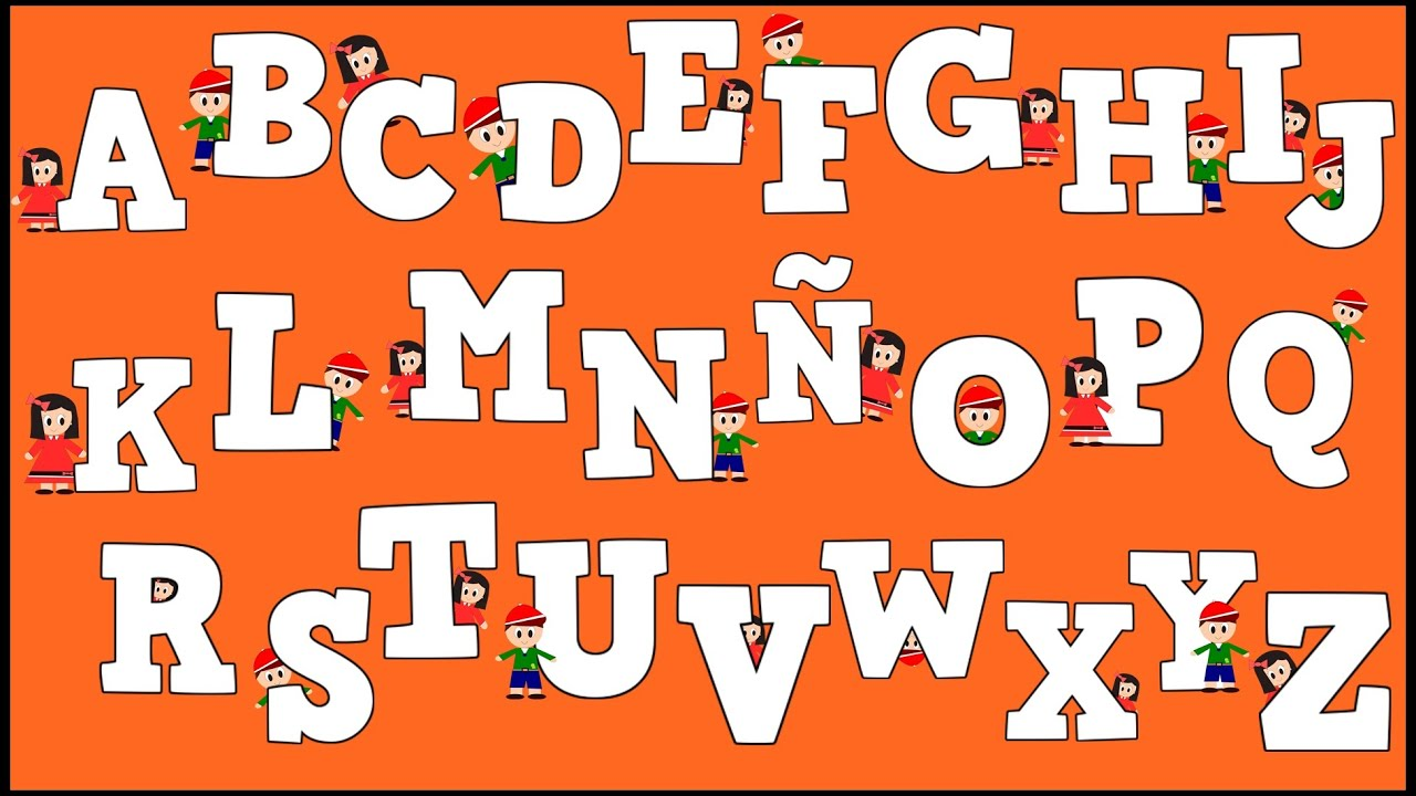 abecedario para niños alphabet in spanish for kids aprender a