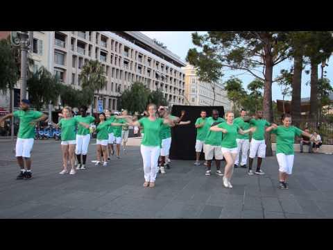 Plage Station Nice-Antibes 2014 - Pingu & Danse Commune ! ♥