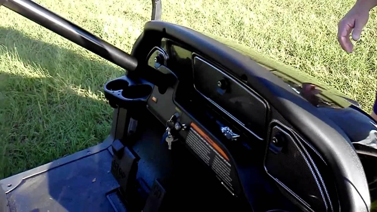 2008 Club Car Precedent Golf Cart Youtube