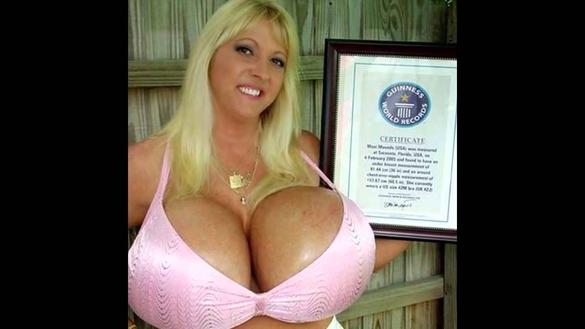 5 Big Boobs In The World