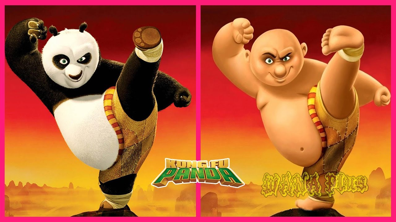 Download Kung Fu Panda Characters If They Were Humans 👉@WANA Plus