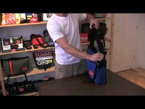 How To Adjust Your Manhattan Portage Strap
