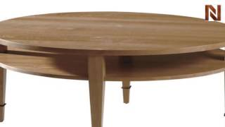 Hekman 7-4001 Oval Coffee Table From Asher Benjamin