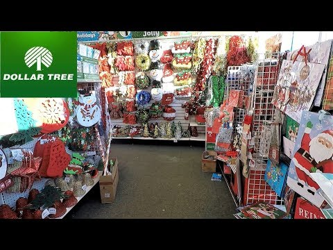 MORE DOLLAR TREE CHRISTMAS ITEMS - CHRISTMAS SHOPPING ORNAMENTS DECORATIONS HOME DECOR