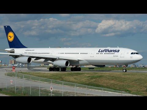 Minecraft Airbus A340-300 (Deutsche Lufthansa AG)