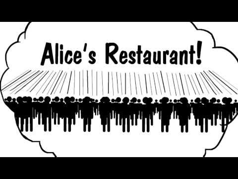 """The Illustrated Version of """"Alice's Restaurant"""": Watch Arlo Guthrie's Thanksgiving Counterculture Classic"""