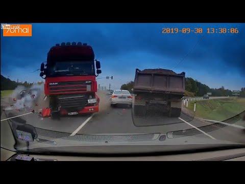 Car Crash Dash Cam Compilation #43 October 2019