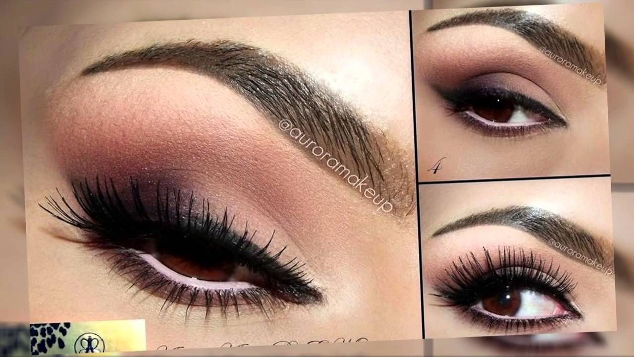 ojos marrones maquillaje tendencias