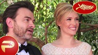 Cannes 2015 - Interviiew du couple Clovis Cornillac et Lilou Fogli sur leurs premiers film