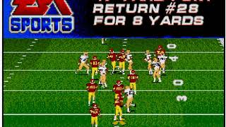 College Football USA '97 (video 185) (Sega Megadrive / Genesis)