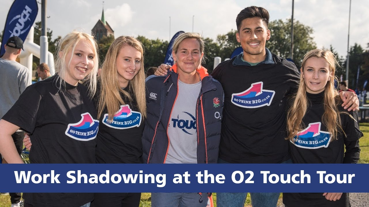 work shadowing at the o touch tour work shadowing at the o2 touch tour