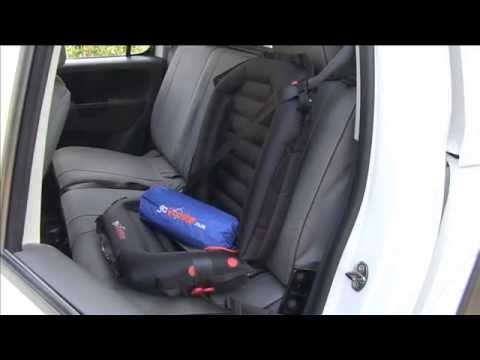 Inflatable Seat Cushion >> GoBooster - the world only inflatable child car booster seat. - YouTube