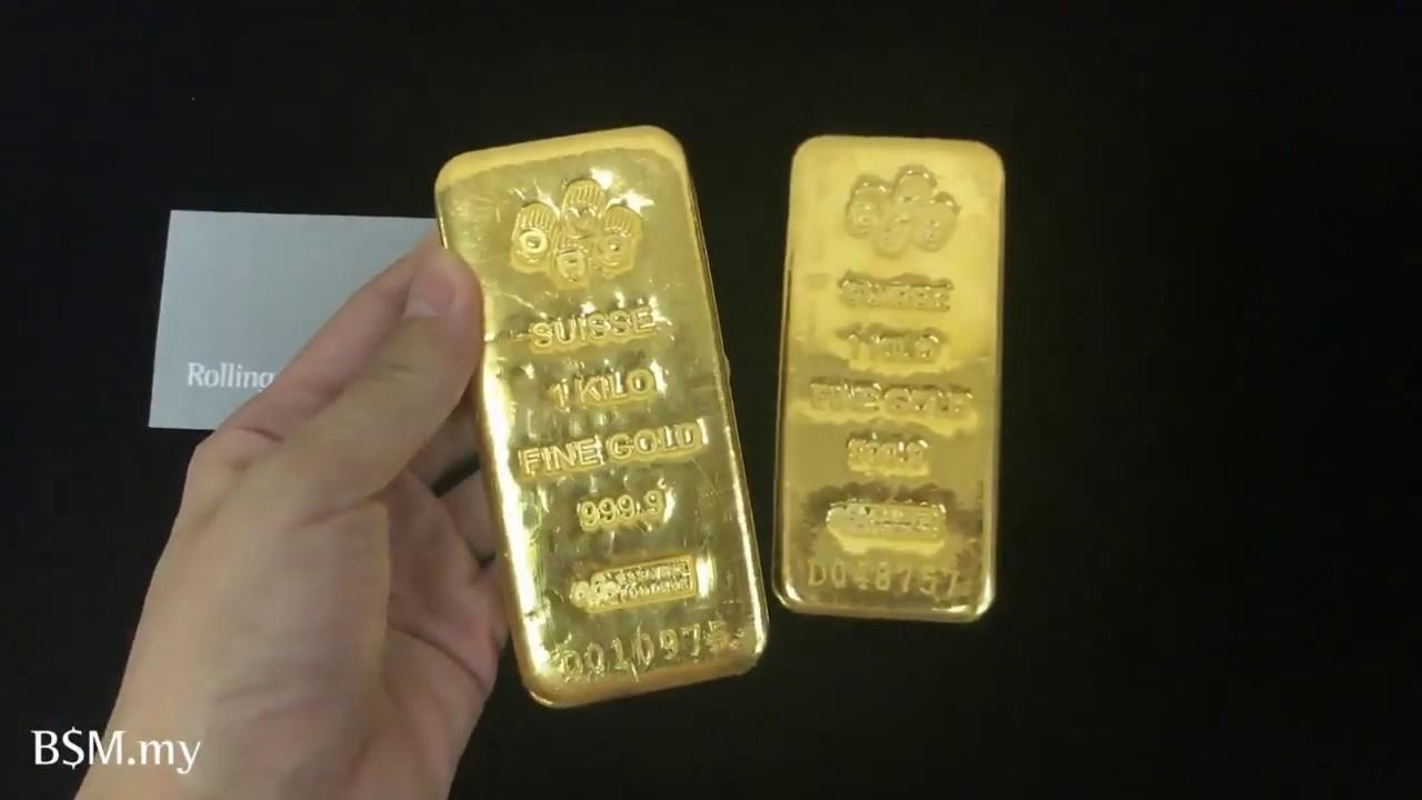 1 Kilo Gold Bar Pamp You