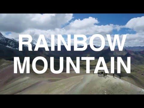 Vinicunca Mountain aka Rainbow Mountain - Peru 4K