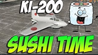 War Thunder KI-200 SUSHI TIME! War Thunder Rocket Gameplay!