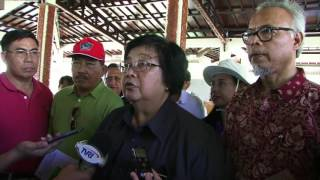 Download Video MENTERI LHK TINJAU TAMAN NASIONAL BUNAKEN MP3 3GP MP4