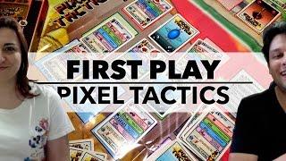 First Play: Pixel Tactics (2012) #boardgames