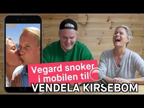 Vegard snoker i mobilen til Vendela Kirsebom