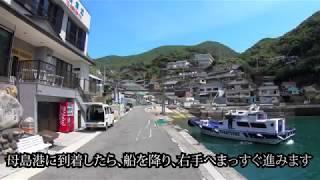 宿毛市沖の島母島(おきのしまもしま)港から妹背山(いもせやま)登山...