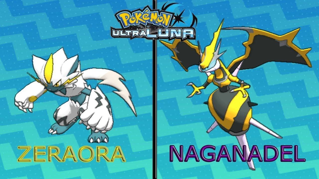 Pokemon Ultraluna Quot Probando A Zeraora Y Naganadel Quot Youtube