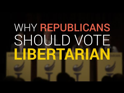 Why Republicans Should Vote Libertarian This Year, According to Libertarian Party Members