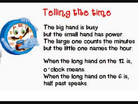 Short Poem About Telling The Time Youtube Ne'er was epic yet or sonnet captured but by leaping on it; short poem about telling the time
