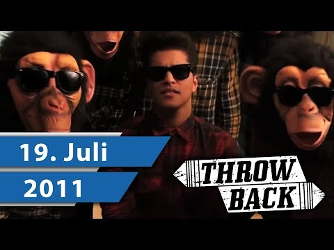 MUSIK CHARTS JULI 2011 – JASON DERULO, BRUNO MARS & DAVID GUETTA I Throwback Thursday
