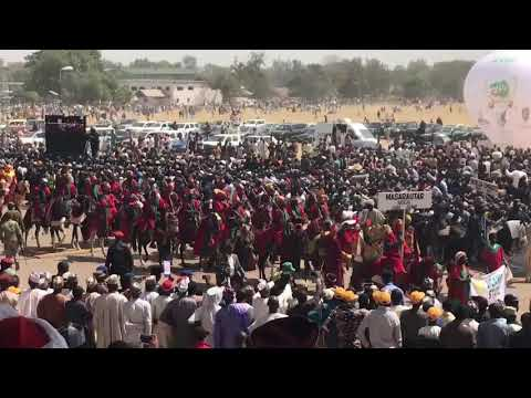 #Kaduna100: Watch Hadeija Emirates Cultural Display