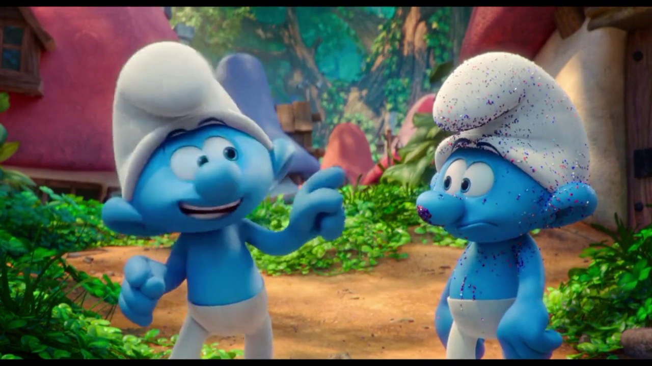 Download Smurfs,The Lost VIllage (first scene..)full HD.