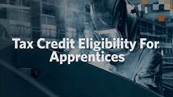 Tax Credit Eligibility For Apprentices
