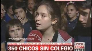 C5N - EDUCACION: DENUNCIAN VACIAMIENTO DEL COLEGIO GUIDO SPANO (PARTE 20)