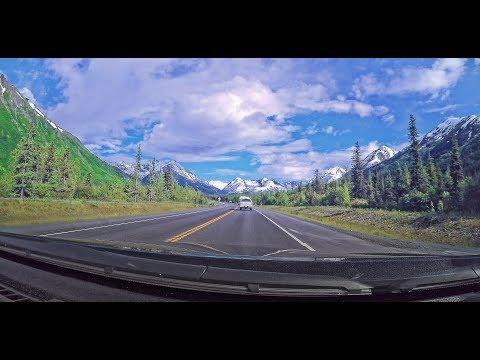 Alaska:  Driving on the Seward Highway