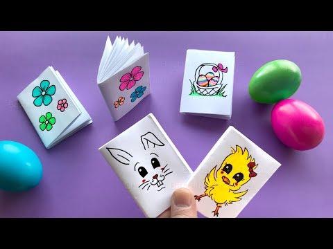 Diy Mini Notizbuch Basteln Mit Papier Heftchen Fur Schule