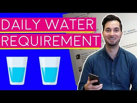 Water | How Much Water Should I Drink | How Much Water Should You Drink A Day