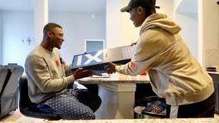 SURPRISING AR'MON WITH HIS FAVORITE SHOES PRANK!!!
