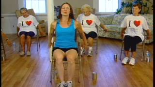 Seniors Chair stretches for