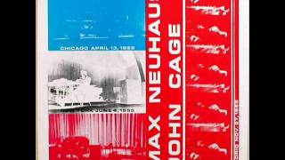 Max Neuhaus - Fontana Mix-Feed [Mandel Hall, University Of Chicago: April 13, 1965]