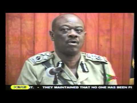 Grenada Police Commissioner caught lying on National TV on Dec 29, 2011
